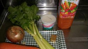プロミーク・スープの材料