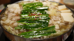 モツ鍋 醤油味